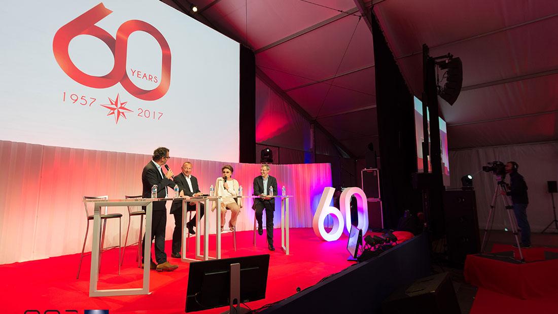Les 60 ans de la société nautique JEANNEAU