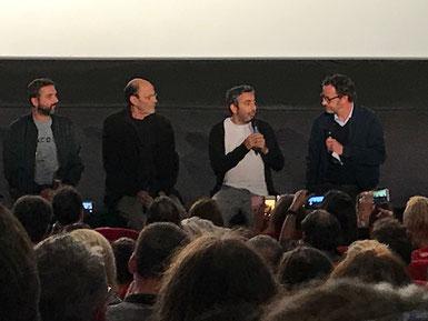 """Avant-Première du film """"Le Sens de la Fête"""" en présence des réalisateurs Eric Toledano et Olivier Nakache et de l'acteur Jean-Pierre Bacri"""