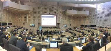 Premier Parlement des Entreprises organisé par la CRCI